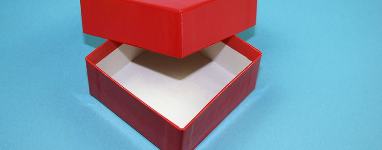 Gift box 7,6x7,6x3,2 cm